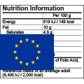 EU Food Nutrition Label
