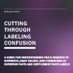 2016 Nutrition Facts Label eBook