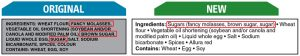 Sugar-Based Ingredient Statement