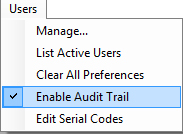 Enabling Genesis R&D Software Audit Trail