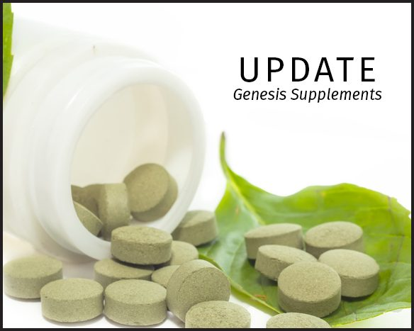 Genesis R&D Supplements Version 1.3 Release Features