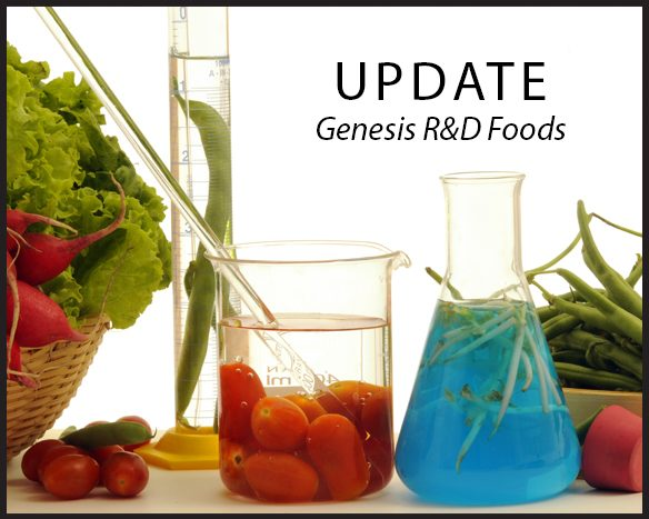 Genesis R&D Food 11.6 Update Overview