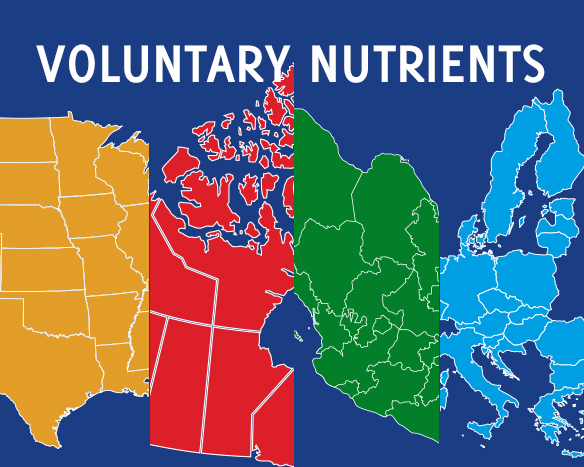How the Display of Voluntary Nutrients Differs by Country/Region